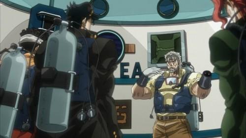 ジョジョ アニメ 第三部 第24話 ジョセフのレクチャー