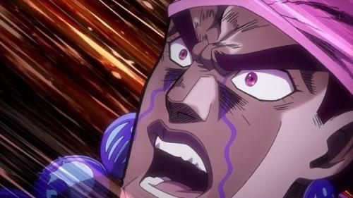 ジョジョ アニメ 第三部 第22話 アヴドゥル ブチ切れ!
