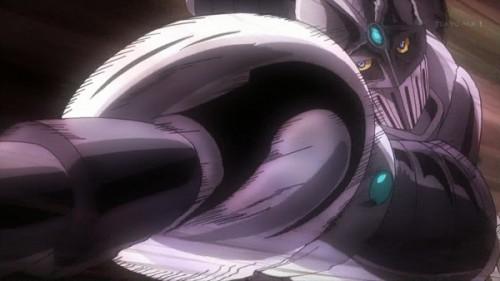 ジョジョ アニメ 第三部 第23話 シルバーチャリオッツ