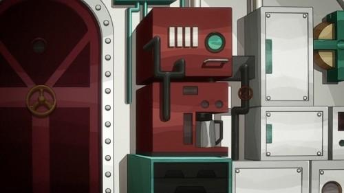 ジョジョ アニメ 第三部 第23話 潜水艦の設備