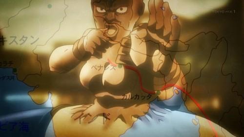 ジョジョ アニメ 第三部 第24話 エジプトへの軌跡