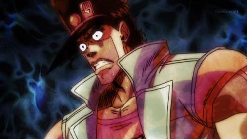 ジョジョ アニメ 第三部 第27話 オインゴ 胃が痛くなってきた