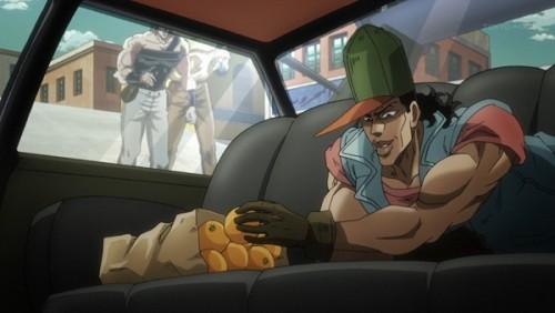 ジョジョ アニメ 第三部 第27話 爆弾を仕掛けるオインゴ
