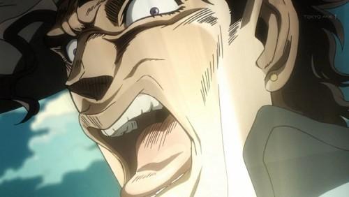 ジョジョ アニメ 第三部 第27話 オインゴ 「アロ ホゲーーッ」