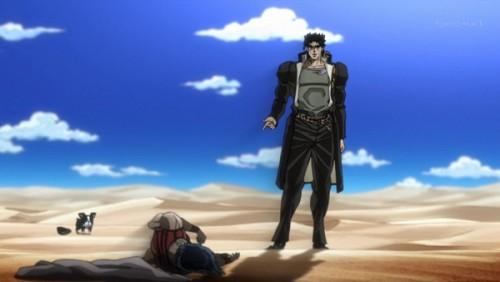 ジョジョ アニメ 第三部 第26話 ンドゥールを倒した承太郎