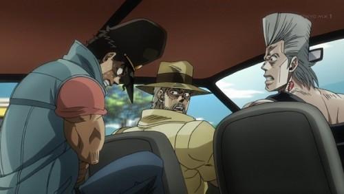 ジョジョ アニメ 第三部 第27話 オインゴ 「腹が痛えー」