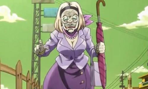 ジョジョ アニメ 第三部 第31話 ジョセフを追ってきたBBA