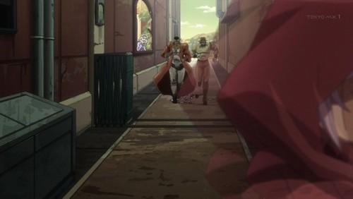 ジョジョ アニメ 第三部 第30話 マライアを見付けた二人