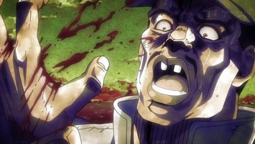 ジョジョ アニメ 第三部 第28話 手が切れた男
