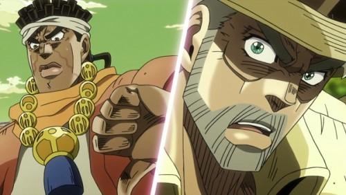 ジョジョ アニメ 第三部 第31話 罠に気づくアヴドゥル