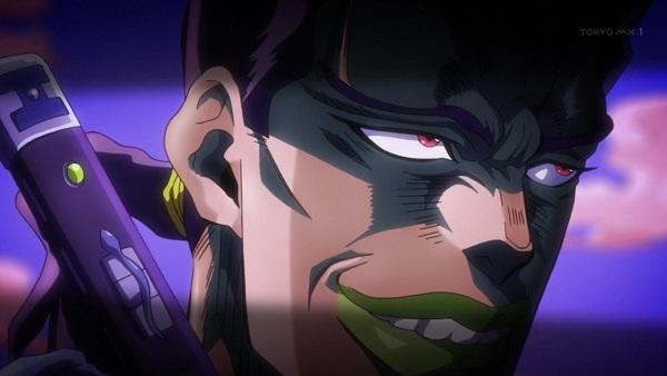 ジョジョ アニメ 第三部 第28話 達人になったチャカ
