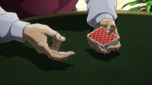 ジョジョ アニメ 第三部 第35話 カードを配るダービー