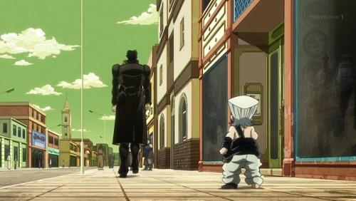 ジョジョ アニメ 第三部 第32話 去っていく承太郎
