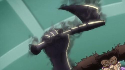 ジョジョ アニメ 第三部 第33話 アレッシーの攻撃