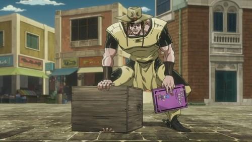 ジョジョ アニメ 第三部 第36話 ボインゴを閉じ込めるホル・ホース