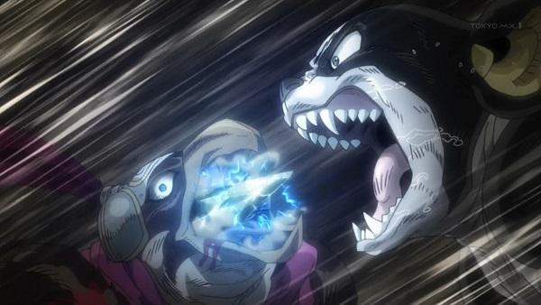 ジョジョ アニメ 第三部 第39話 ペット・ショップ vs イギー