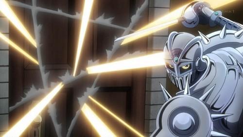 ジョジョ アニメ 第三部 第44話 扉を切り裂くチャリオッツ
