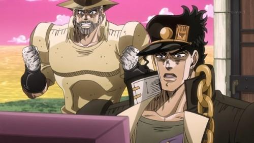 ジョジョ アニメ 第三部 第41話 「グッド なかなかおもしろいゲームだ」