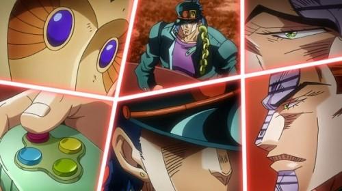 ジョジョ アニメ 第三部 第41話 承太郎に揺さぶりをかけるテレンス