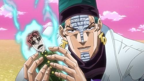 ジョジョ アニメ 第三部 第41話 嬉しそうなテレンス