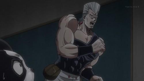 ジョジョ アニメ 第三部 第43話 ポルナレフとイギー