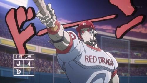 ジョジョ アニメ 第三部 第41話 二度目のホームラン予告