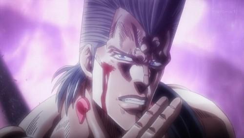ジョジョ アニメ 第三部 第44話 「あばよ イギー」