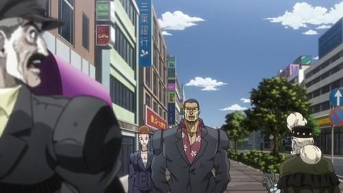 ジョジョ アニメ 第三部 第44話 ヤクザを撮影するスージーQ