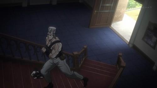 ジョジョ アニメ 第三部 第43話 「一気に駆け上がるぜッッ!」
