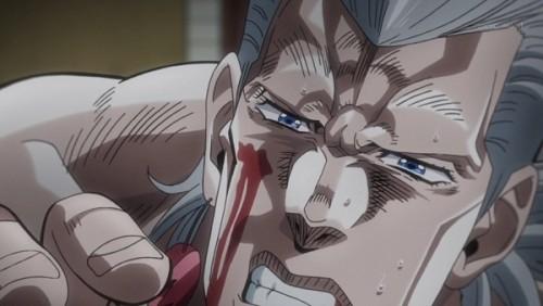 ジョジョ アニメ 第三部 第44話 「俺を助けるなといったのに」
