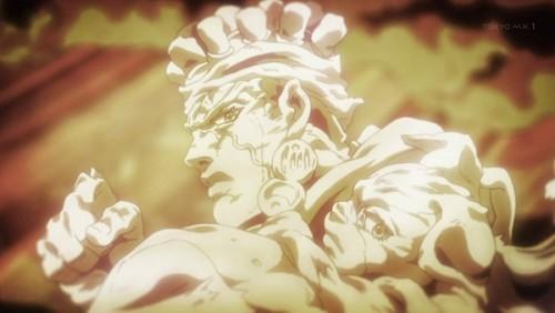 ジョジョ アニメ 第三部 第45話 アヴドゥルとイギー
