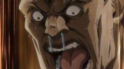 ジョジョ アニメ 第三部 第45話 「おおおおがあ…ぢゃ……ん」