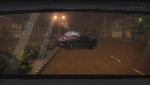 ジョジョ アニメ 第三部 第45話 停車した車