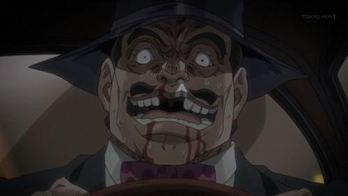 ジョジョ アニメ 第三部 第45話 現実逃避する上院議員
