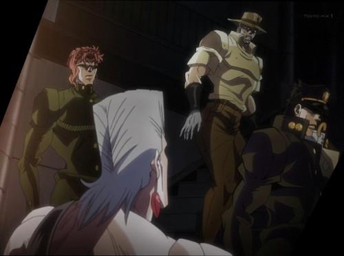 ジョジョ アニメ 第三部 第45話 ありのまま説明するポルナレフ