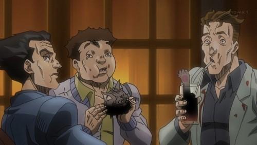 ジョジョ アニメ 第三部 第46話 モグモグモグ