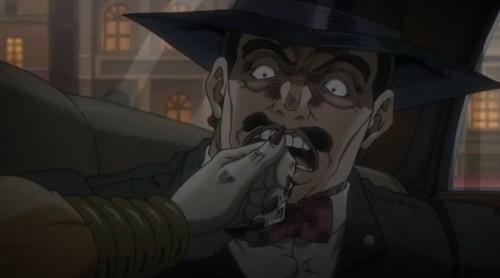 ジョジョ アニメ 第三部 第45話 ウィルソン・フィリップス上院議員