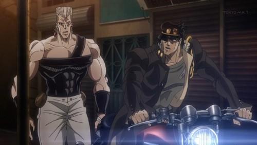 ジョジョ アニメ 第三部 第45話 「かかったぜ」
