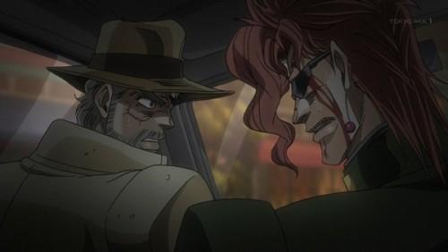 ジョジョ アニメ 第三部 第45話 ザ・ワールドの能力を分析する花京院