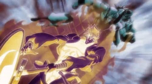 ジョジョ アニメ 第三部 第47話 時を止めて回避するDIO