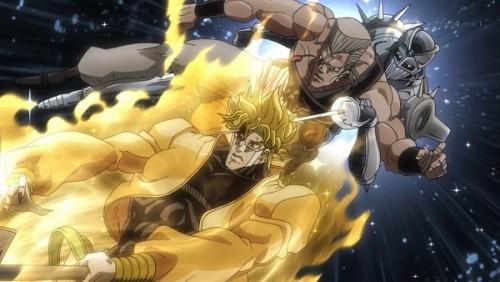 ジョジョ アニメ 第三部 第47話 DIOを突き刺すポルナレフ