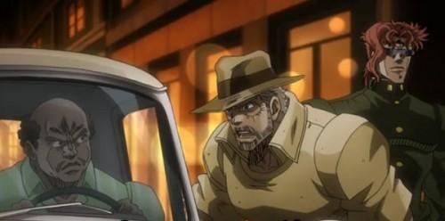 ジョジョ アニメ 第三部 第45話 トラックを買うジョセフ