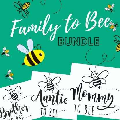 Mommy to bee svg bundle