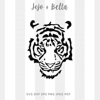 tiger svg - animal king cut file for Cricut and silhouette