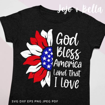 sunflower svg - American cut file for Cricut and silhouette