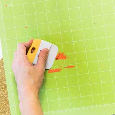 cleaning your cricut mat