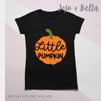 Free Little Pumpkin Svg for Cricut and Silhouette