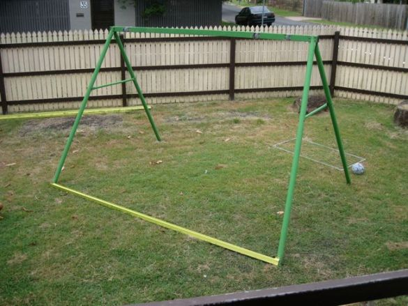 How To Build A Swing Set Ladder Valentin011rv