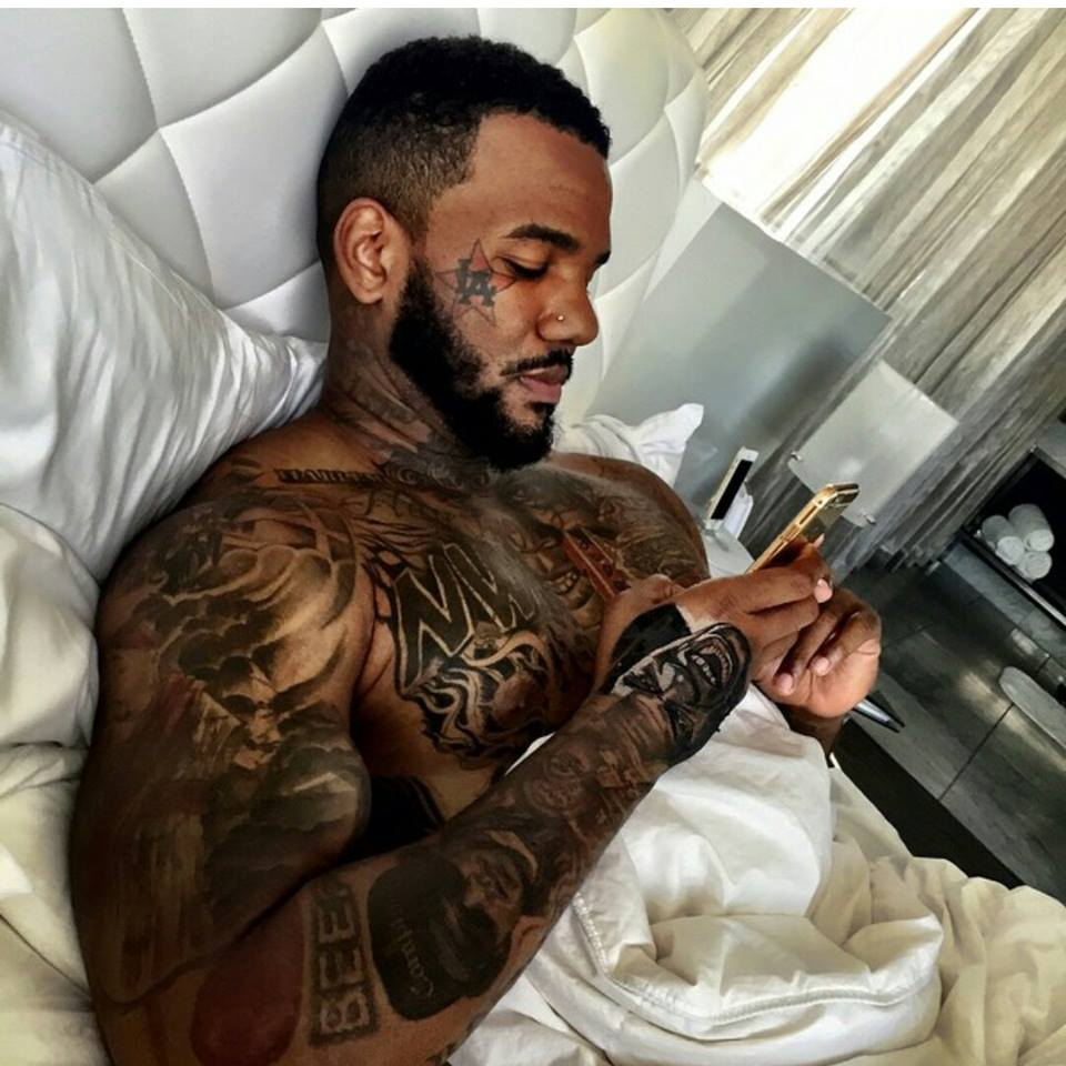 Rapper the game on dating game show