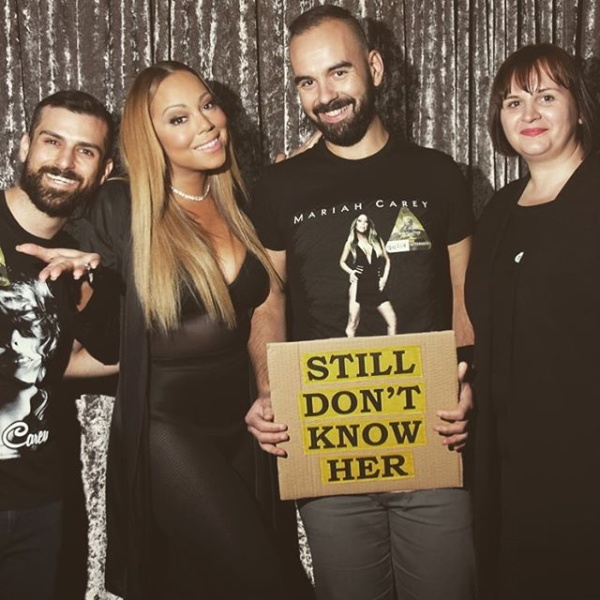 Petty labelle mariah carey fans bring i still dont know her stilldontknowherfans m4hsunfo